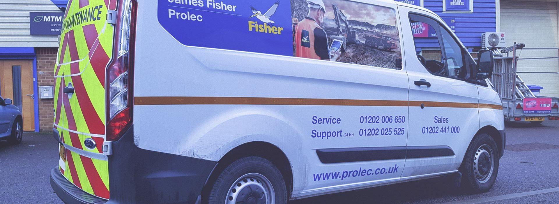 Portfolio - James Fisher Prolec Vehicle Wrapping