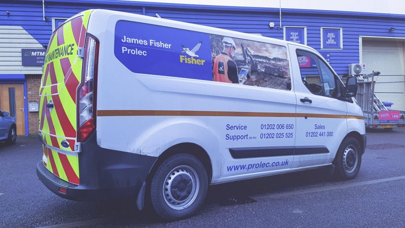 Portfolio - James Fisher Prolec Vehicle Wrapping