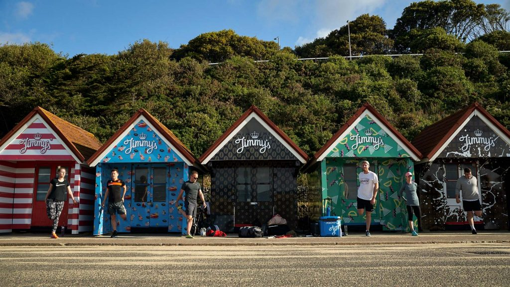 Portfolio - Jimmy's Iced Coffee Beach Huts
