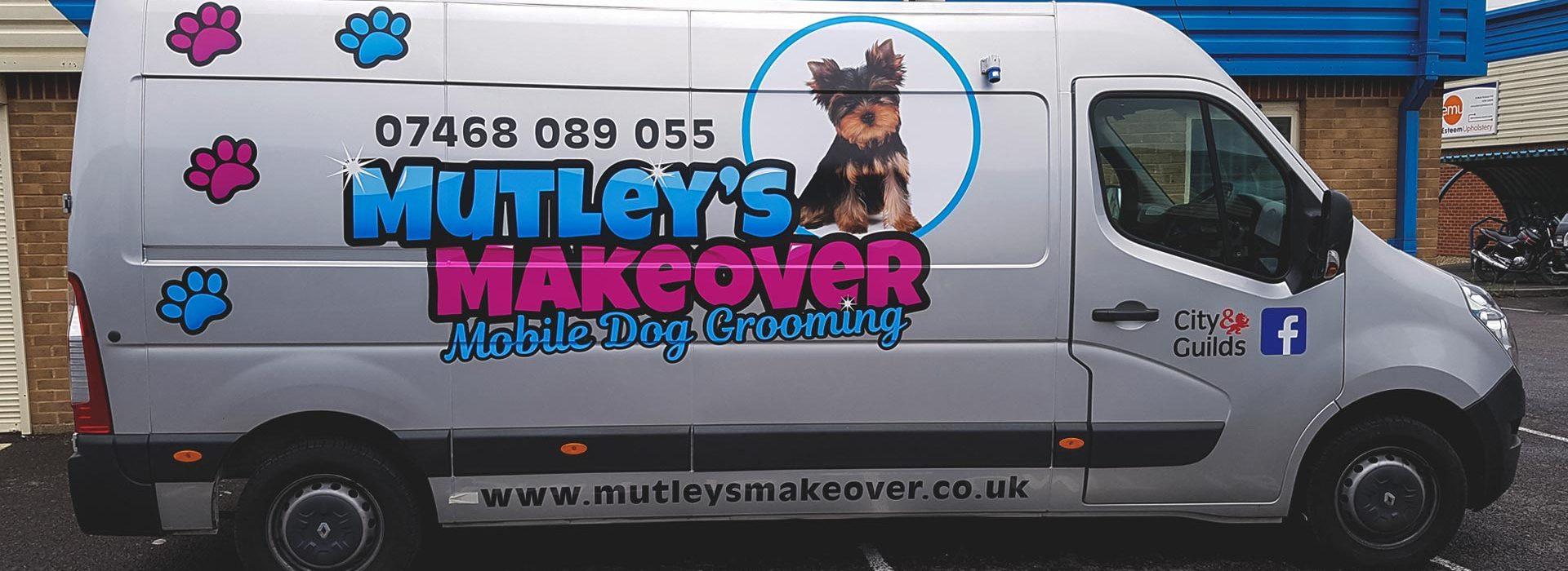 Portfolio - Mutley's Makeover - Vehicle Wrap