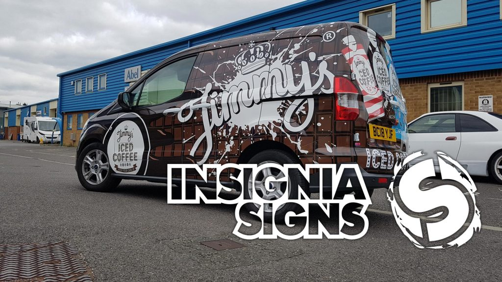 About Insignia Signs - Jimmy's Vehicle Wrap