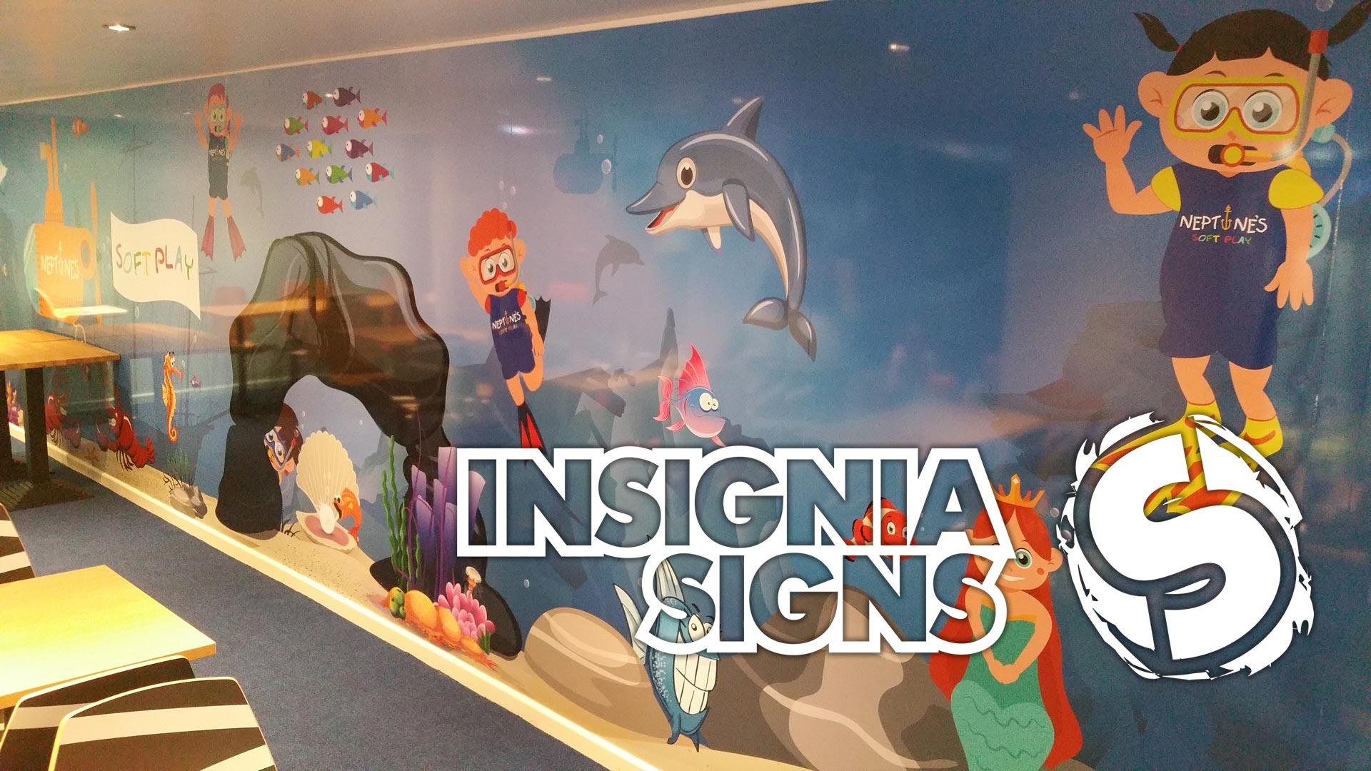 About Insignia Signs - Wall Graphics