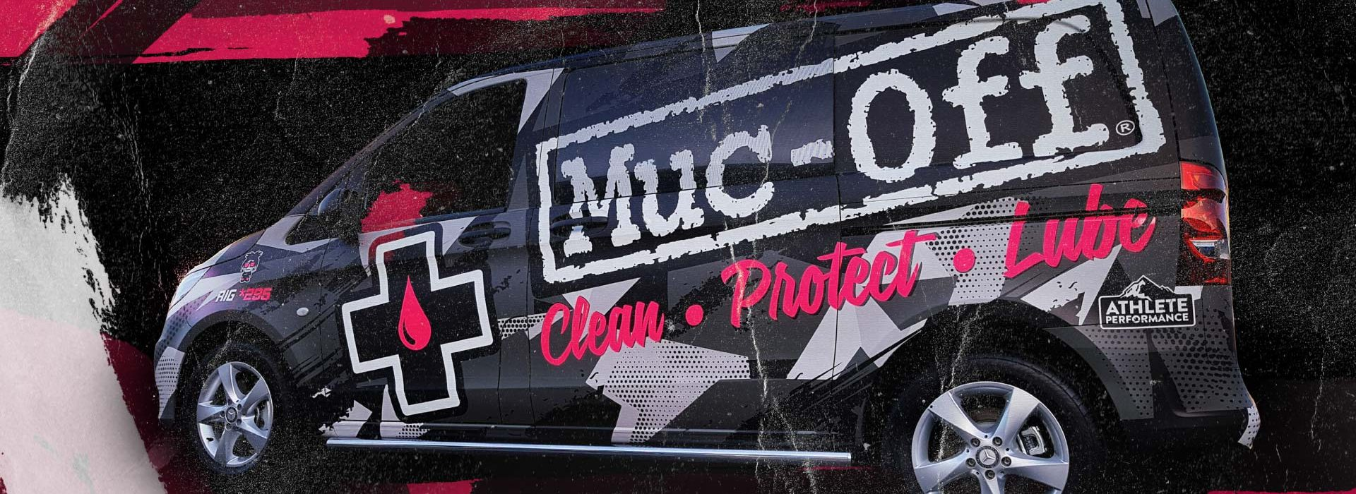 Muc-Off Vehicle Wrap by Insignia Signs Poole