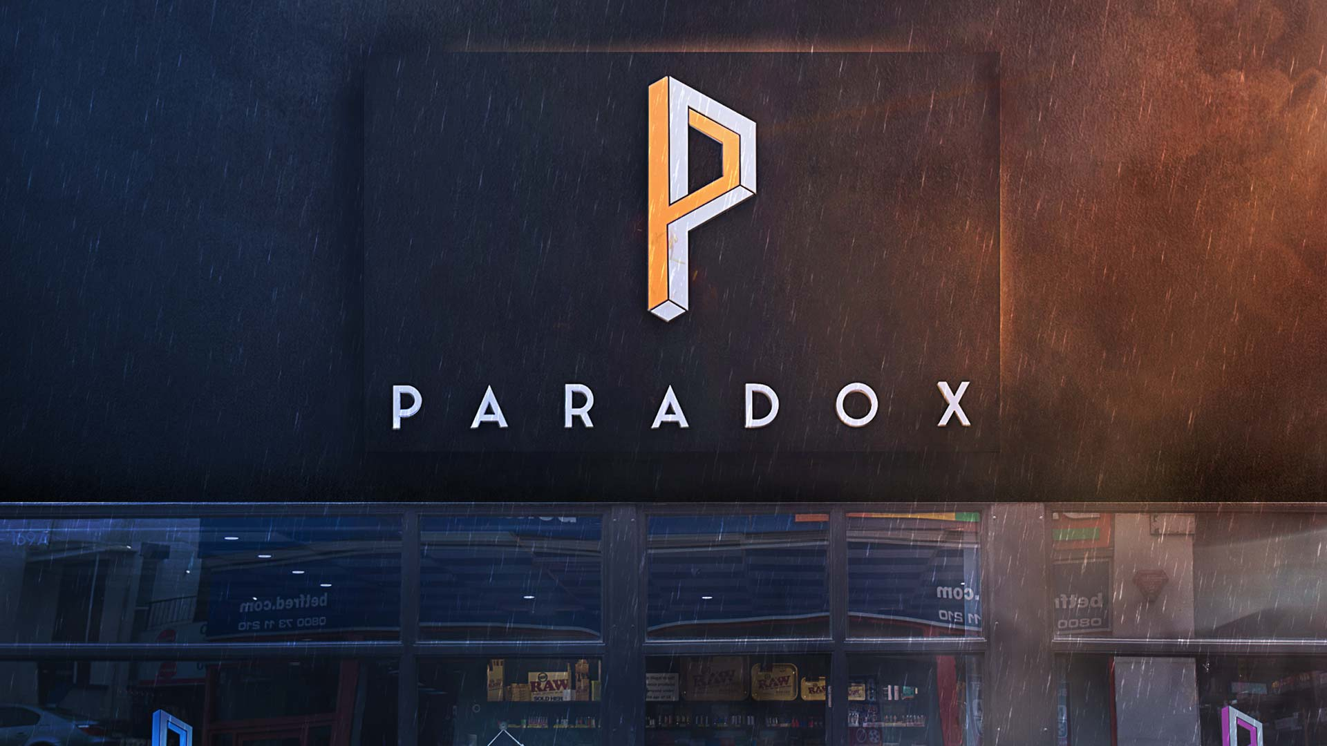 Paradox Sign by Insignia Signs Poole