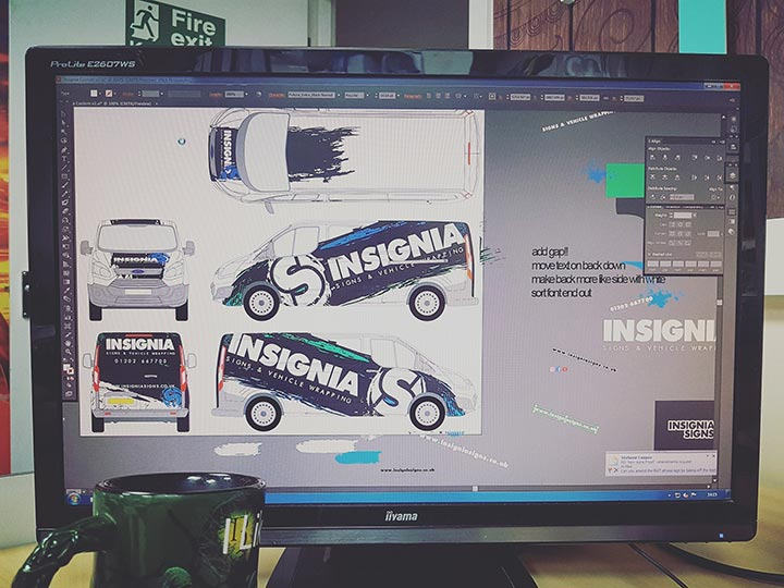 Insignia Signs - The Design Process