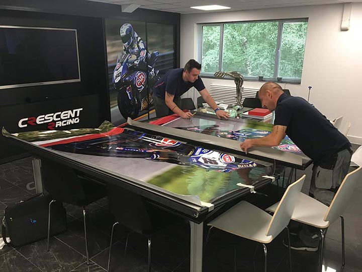 Insignia Signs - The Preparation Process