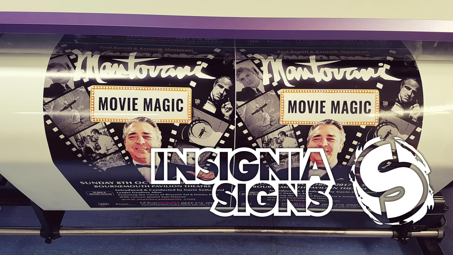 Insignia Signs - Sign Work - Movie Print