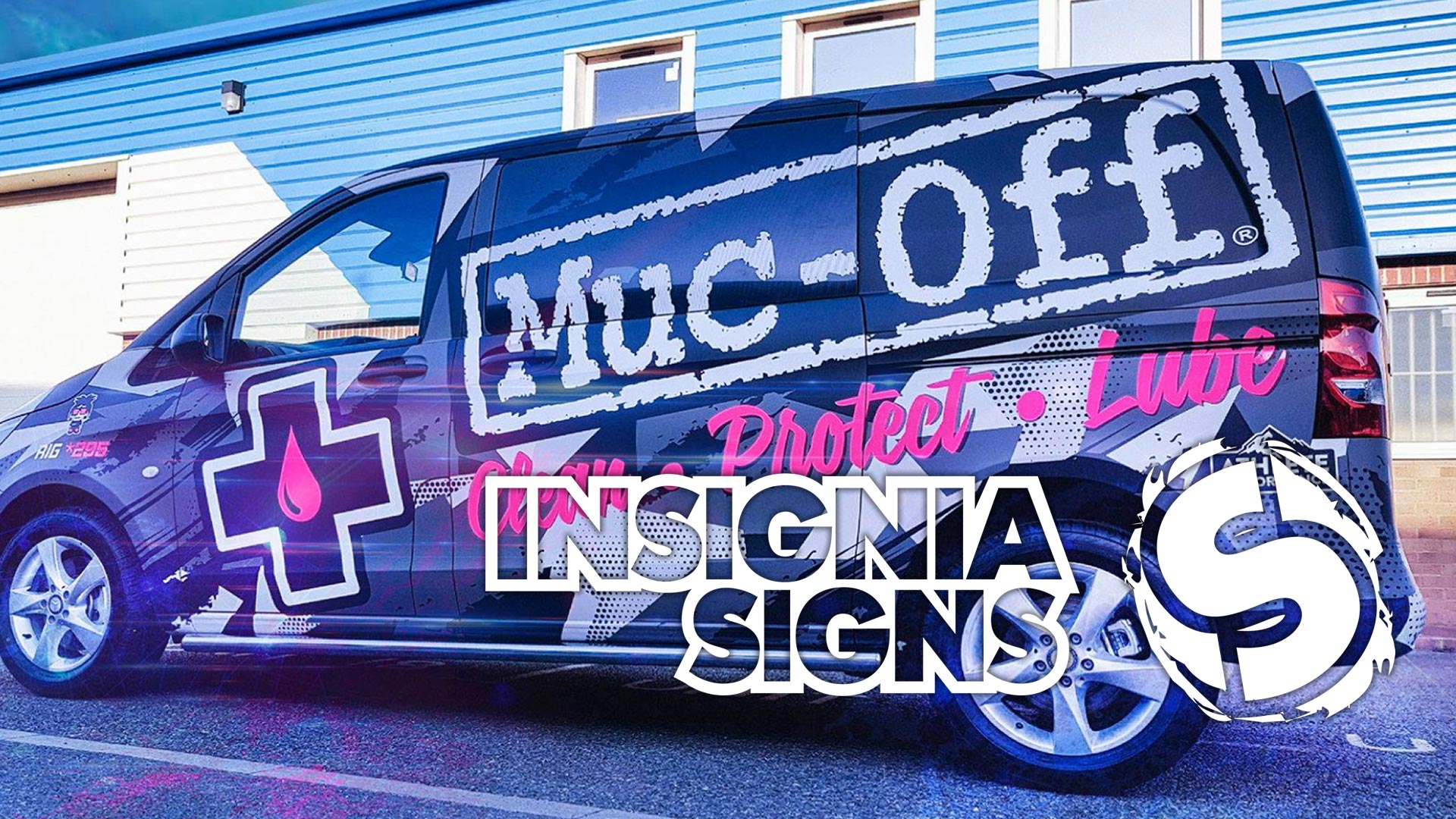 Insignia Signs - Sign Work - Muc-Off Van