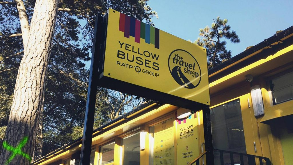 Portfolio - Yellow Buses - Sign