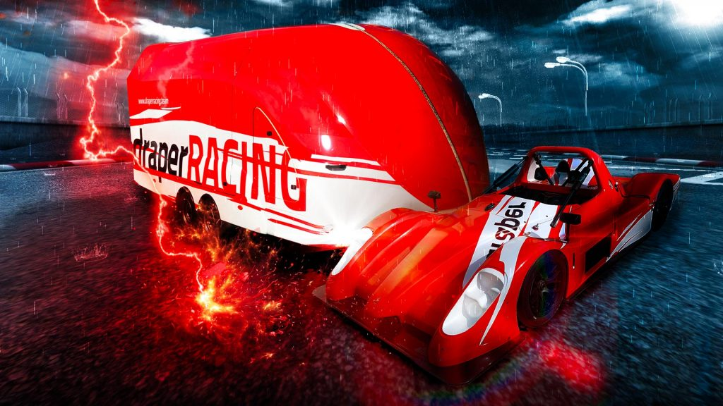 Portfolio - Draper Racing - Vehicle Wrap
