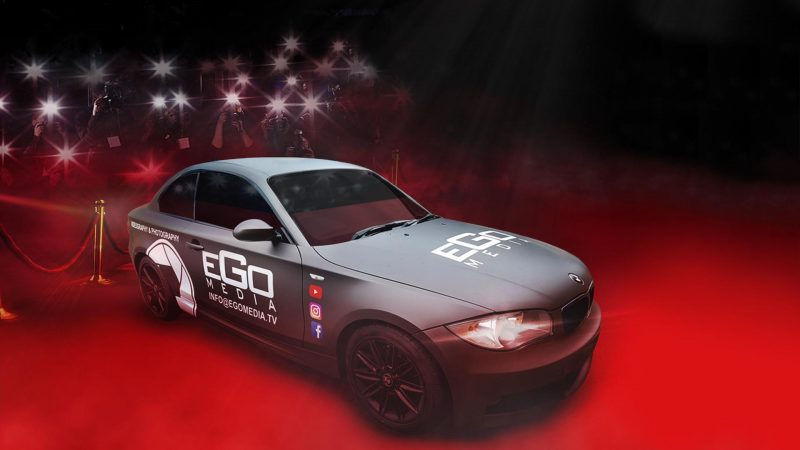Portfolio - Ego Media - Car Wrap