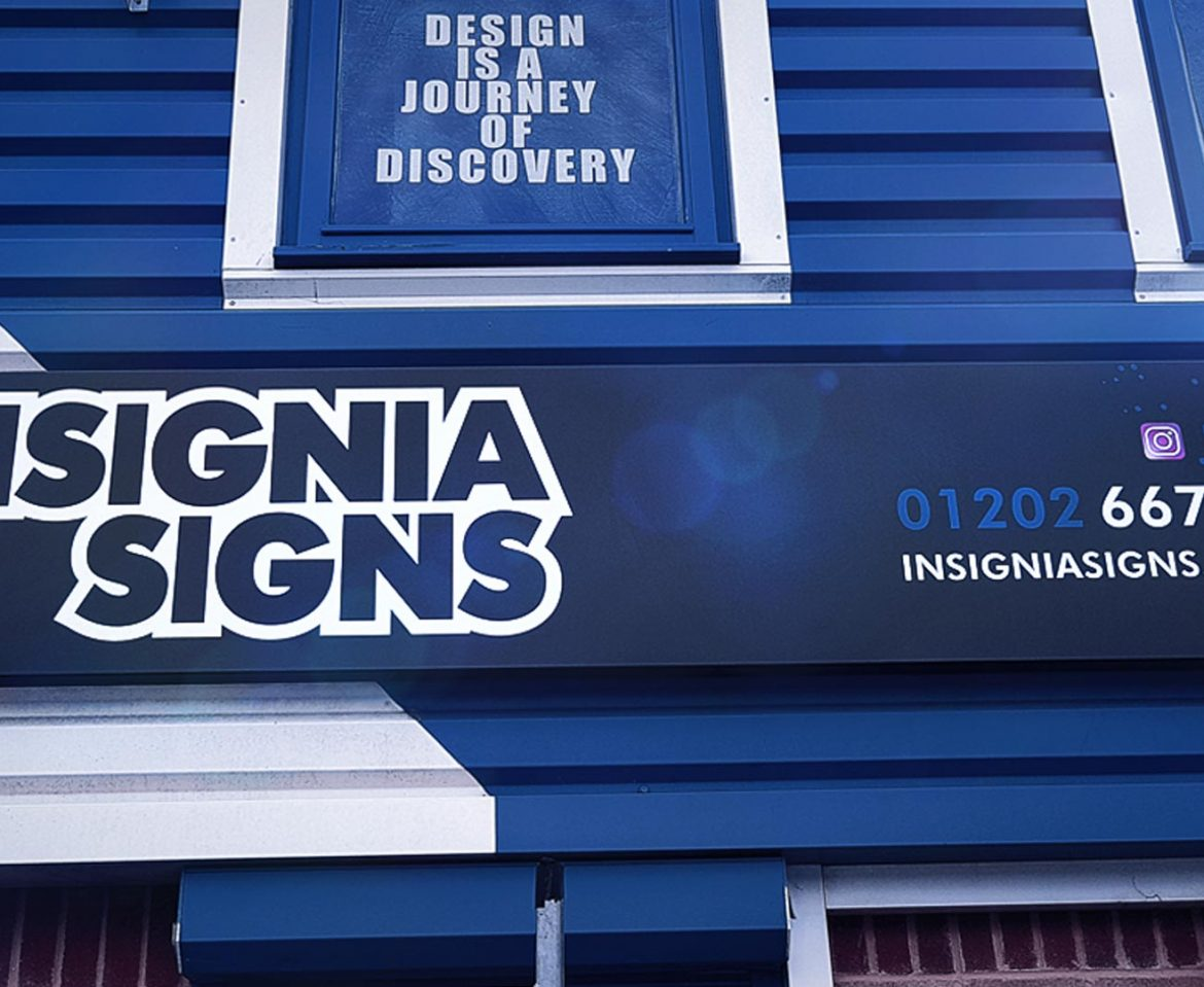 Portfolio - Insignia Signs - Shop Sign