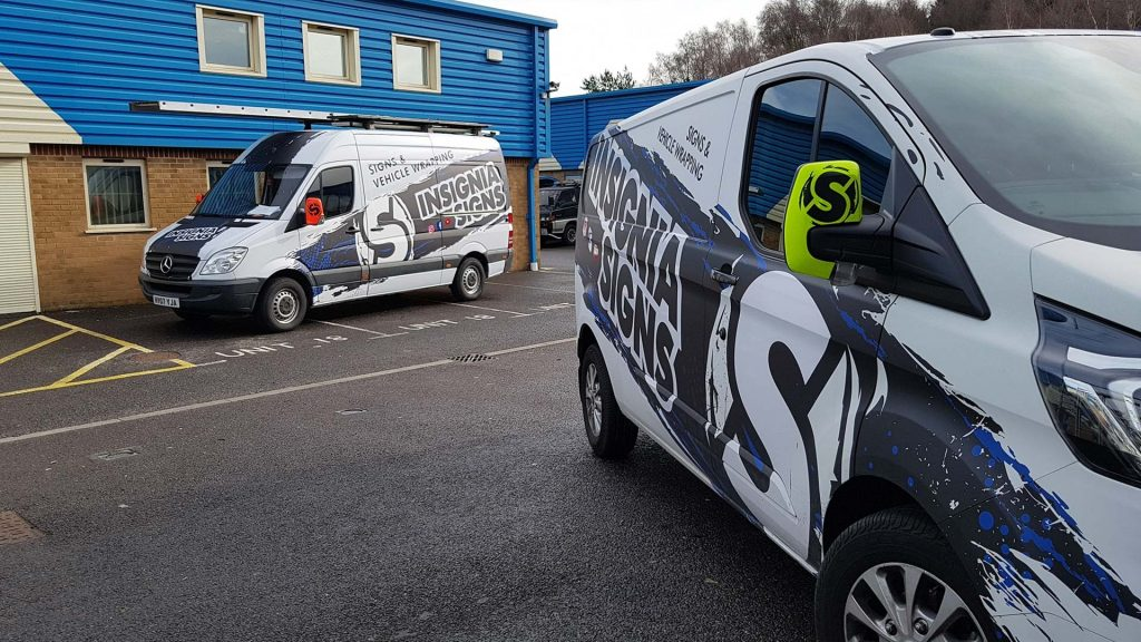 Portfolio - Insignia Signs with Wing Mirrors
