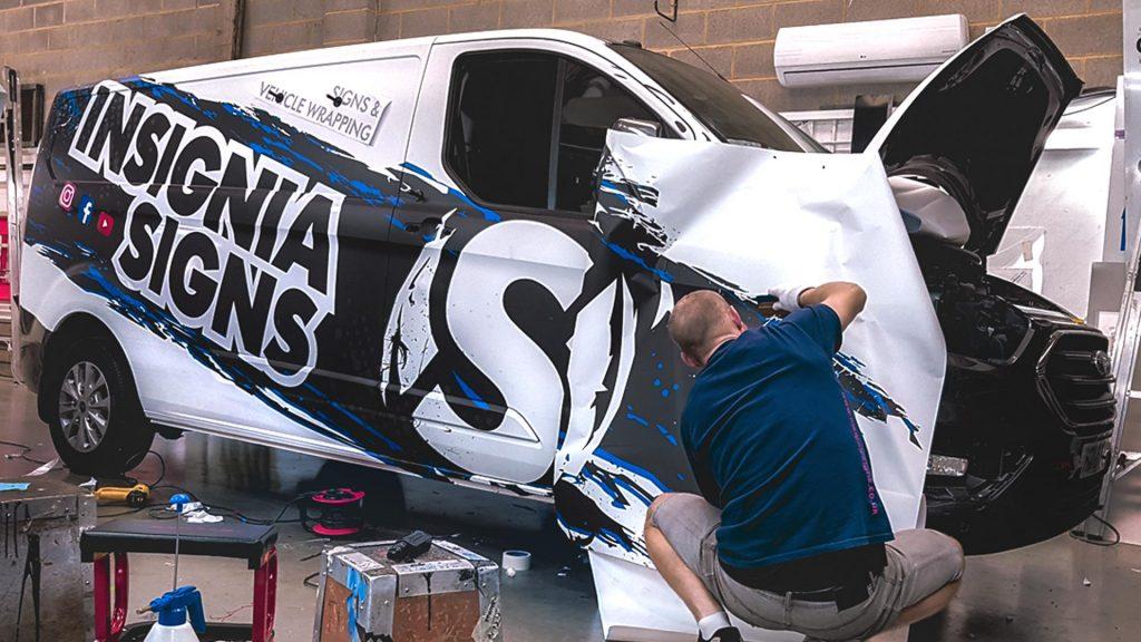 Portfolio - Insignia Signs - Van Wrap