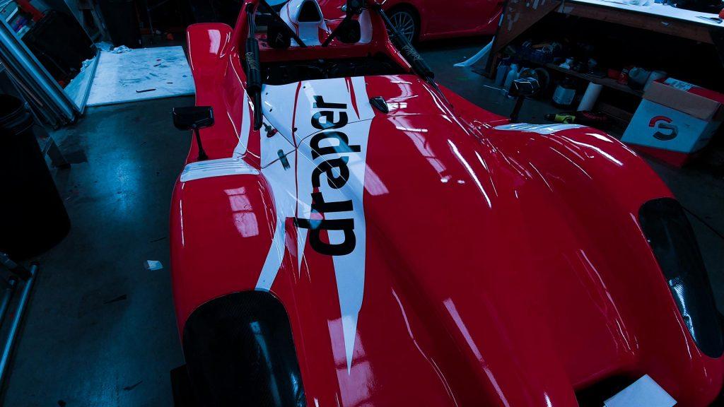 Portfolio - Radical Sports Car Vehicle Wrap - Insignia Signs