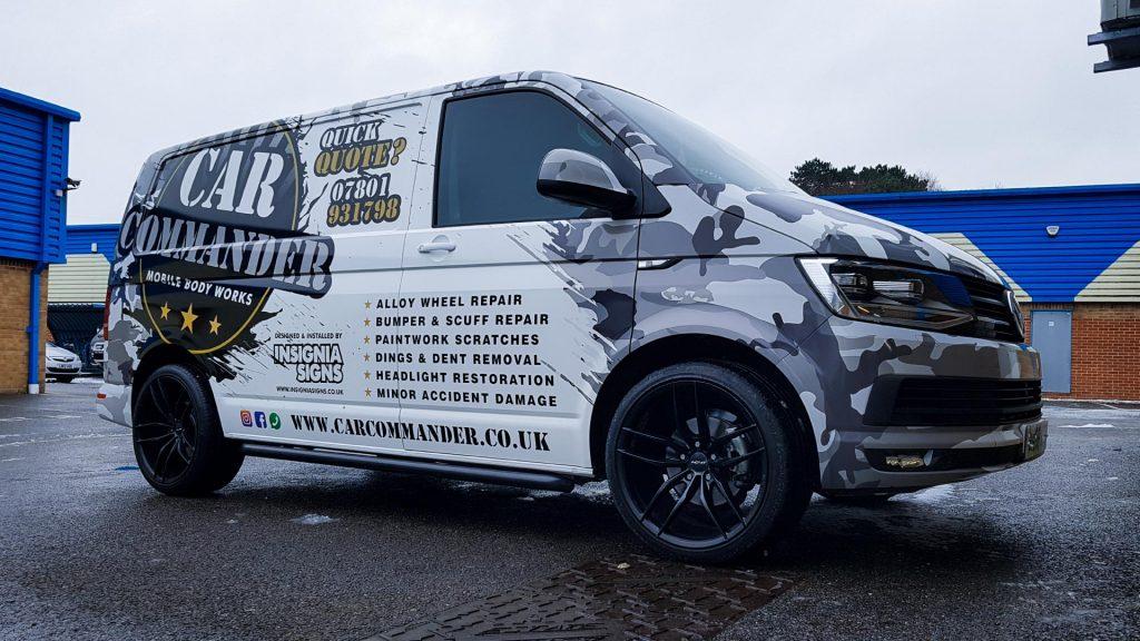 Portfolio - Car Commander Van - Vehicle Wrap
