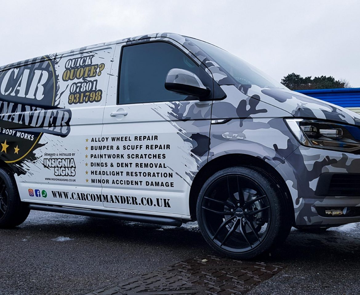 Portfolio - Car Commander Van - Vehicle Wrap