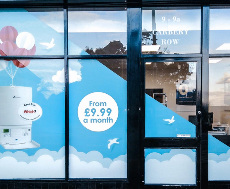 Portfolio - GWE Shop - Window Graphics