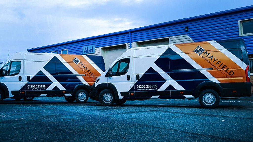 Portfolio - Mayfield Decking Company - Vehicle Wrap