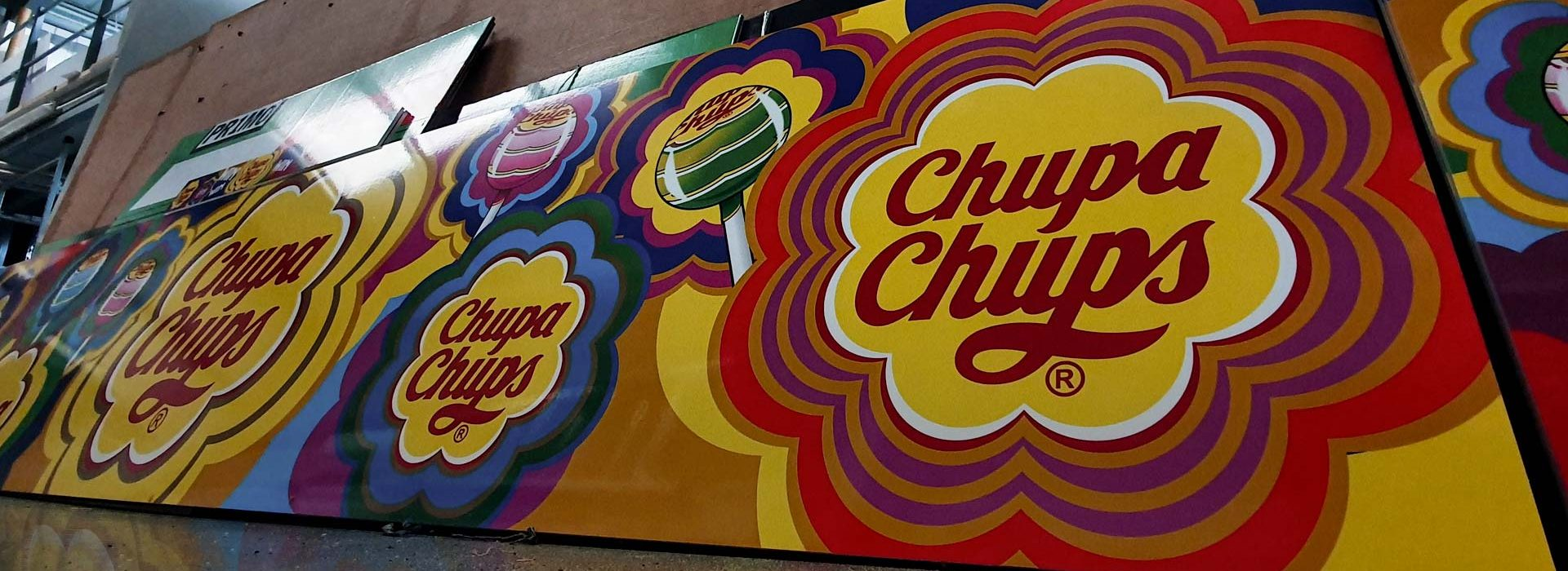 Portfolio - Chupa Chops Arcade Machine Print - Insignia Signs