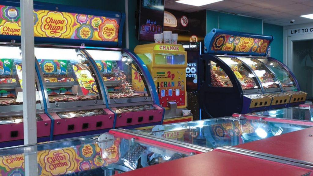 Portfolio - Chupa Chops Print on Arcade Machines - Insignia Signs
