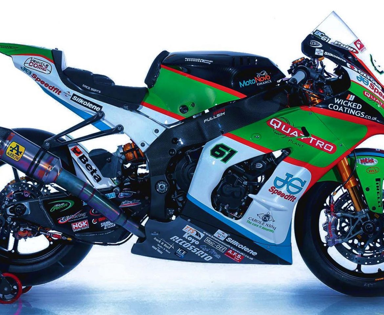 Portfolio - Kawasaki Bike Wrap - Insignia Signs