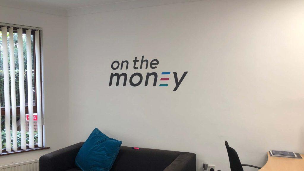 Portfolio - On the Money Wall Graphic