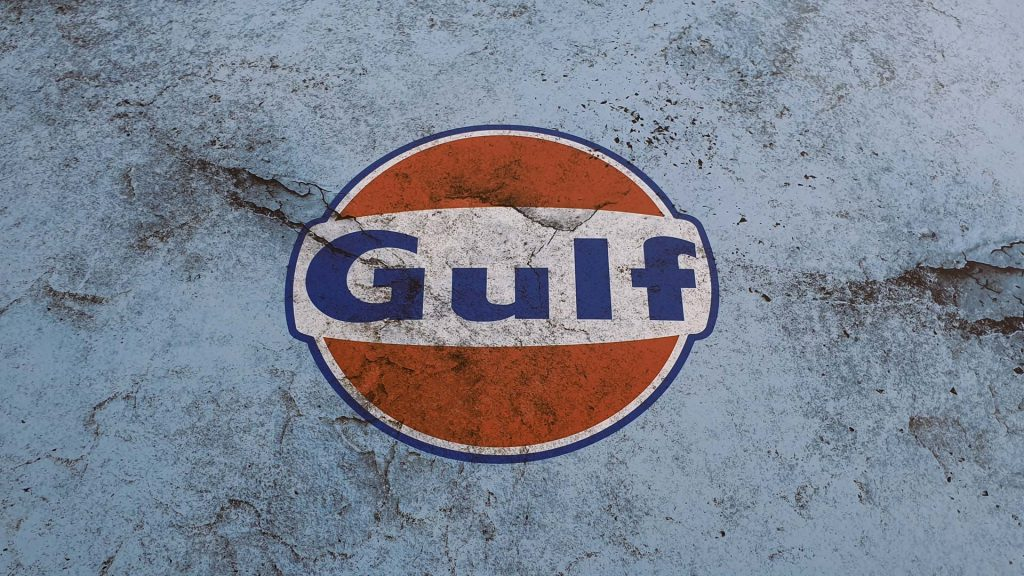 Portfolio - Porsche Gulf Car Vehicle Wrap - Logo