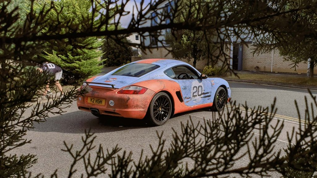 Portfolio - Porsche Gulf Car Vehicle Wrap - Promo