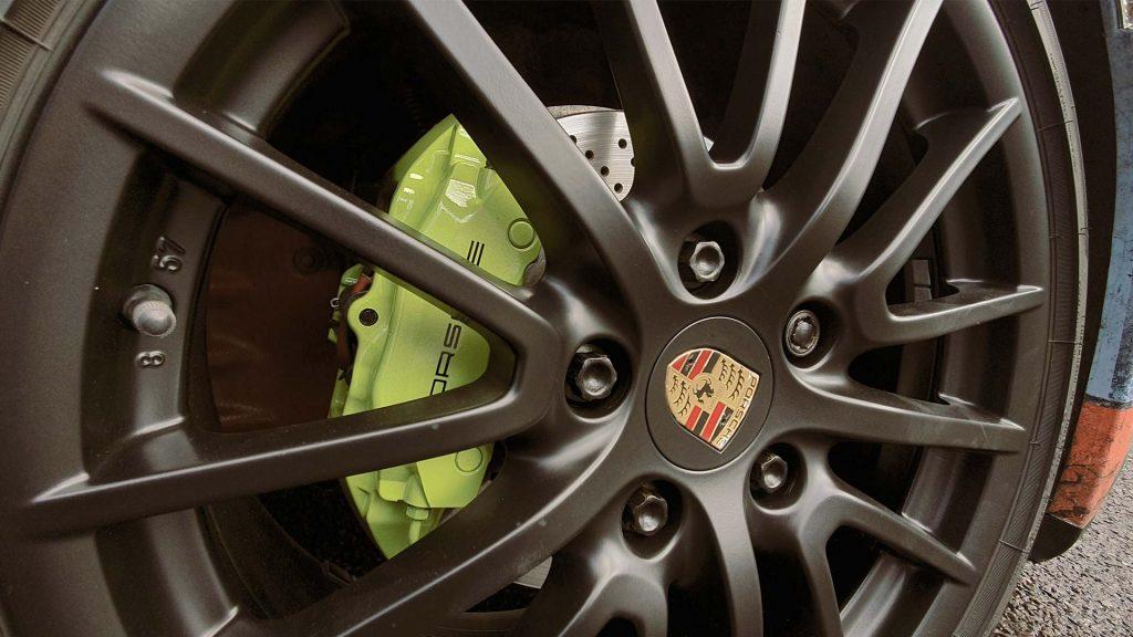 Portfolio - Porsche Gulf Car Vehicle Wrap - Wheel