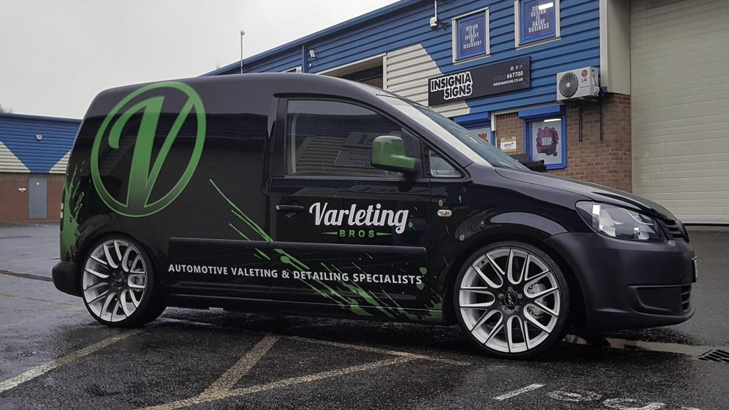 Portfolio - Varleting Bros Vehicle Wrap - Insignia Signs