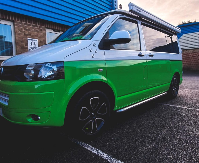 Portfolio - Biscuit Bus Volkswagen Vehicle Wrap - Insignia Signs