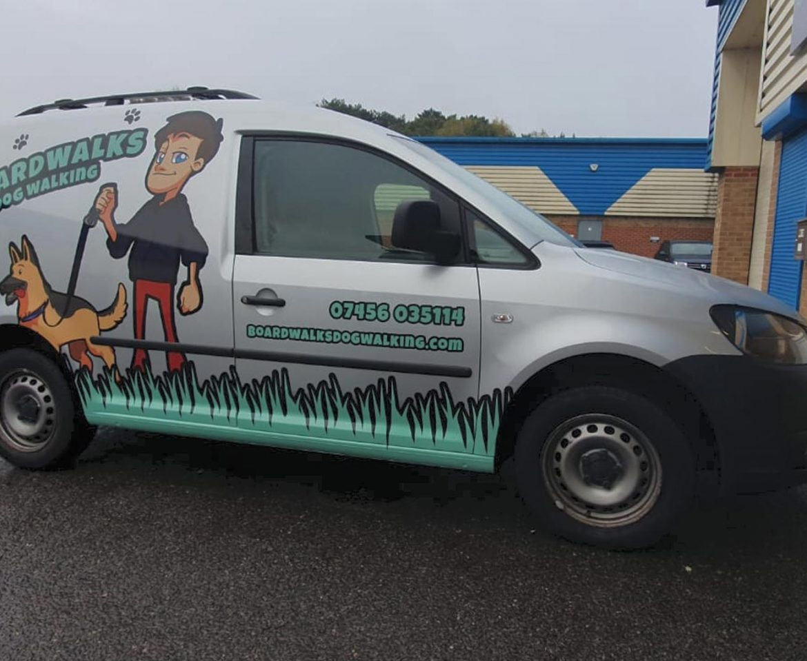 Portfolio - Boardwalks Van Wrap - Insignia Signs