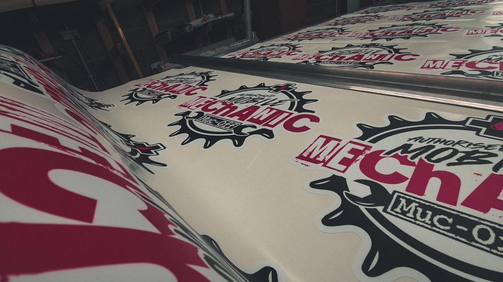Portfolio - Muc-Off Authorised Mechanic Prints - Insignia Signs