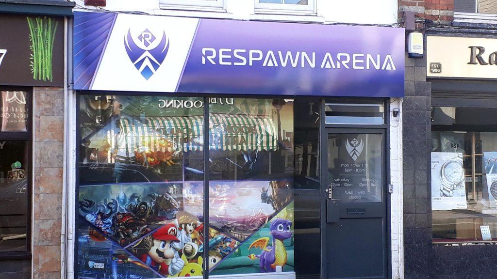 Portfolio - Respawn Arena Shop Sign - Insignia Signs
