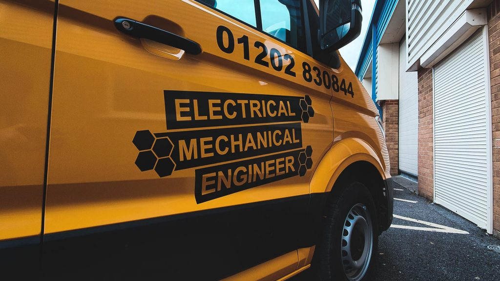 Portfolio - Southern Engineering Equipment Ltd Close up of Van Wrap - Insignia Signs