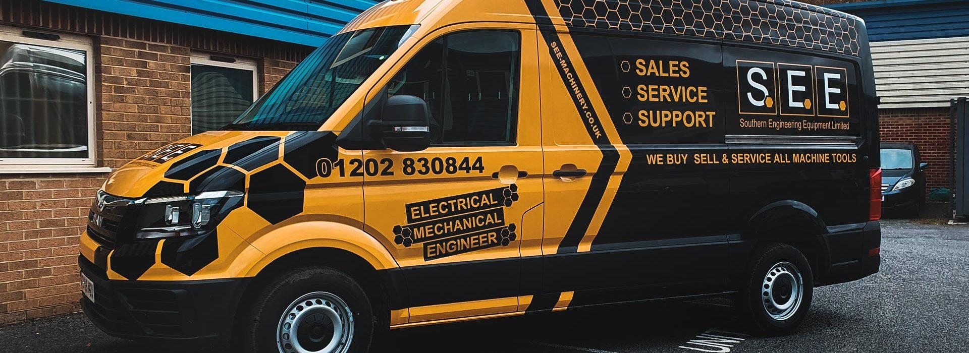 Portfolio - Southern Engineering Equipment Ltd Van Wrap - Insignia Signs