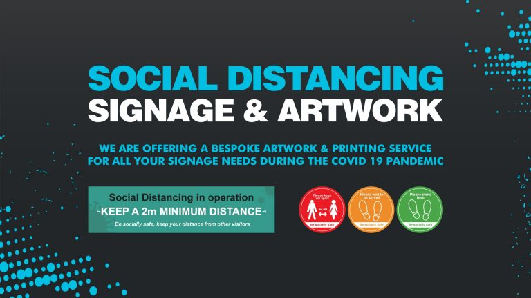 Insignia Signs Social Distancing Signage and Artwork
